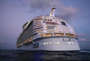 kruizinis laivas allure