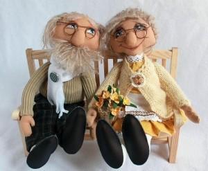 bobutė ir senelis