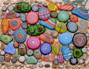 akmenėliai